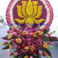 Cat Tuong Flowers Orange County Santa Ana Funeral Arrangement Lotus Hoa Sen