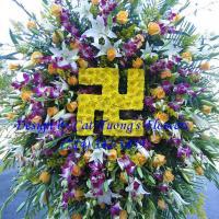 Cat Tuong Flowers Orange County Santa Ana Funeral Arrangement Sprays