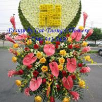 Cat Tuong Flowers Orange County Santa Ana Funeral Heart Little Saigon